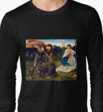 Edward Burne-Jones Fight St. George Kills Dragon Long Sleeve T-Shirt