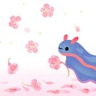 Cherry blossom slug by pikaole