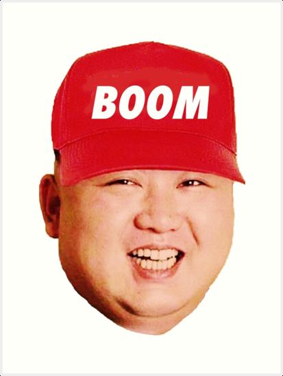 bc2a20b310c Kim Jong Un - Boom (maga) Hat