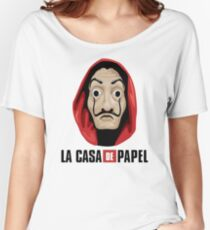 Money Heist Women's Relaxed Fit T-Shirt