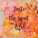 Pineapple Sweet Life Summer Quote by artsandsoul
