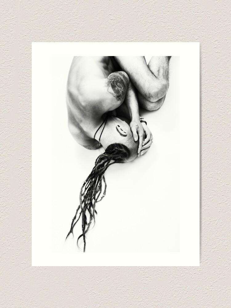 Alternate view of Despair Art Print