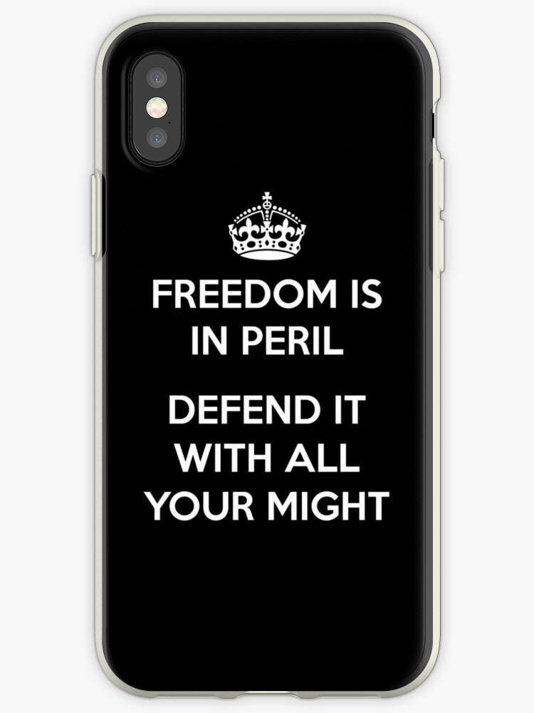 No Longer Keep Calm...Freedom is in Peril - Defend It With All Your Might by DWS-Store