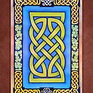 Celtic Lion Knot with Clover by Cleave