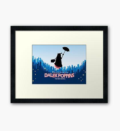 Dalek Poppins  Framed Print