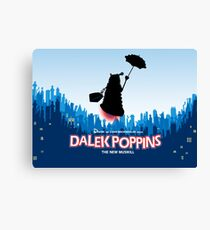 Dalek Poppins  Canvas Print