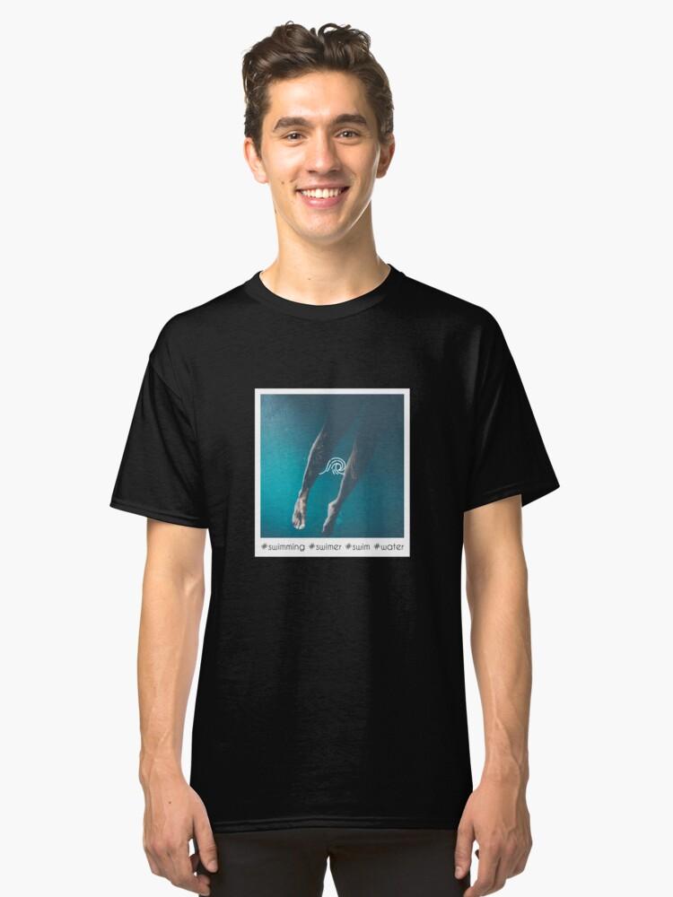 Swimming Tshirt / What is Swim? / Swimmingly / The Swimmer / Swimming  Olympics World / Swim / Water / Nature / T-Shirt / Design / Ideas | Classic  ...