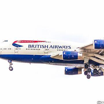 BRITISH AIRWAYS B747 by robertbiraus