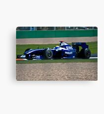 Team AT&T Williams Canvas Print