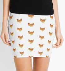 Happy Golden Hen Mini Skirt