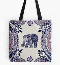 Hübscher rosa Elefant Tote Bag