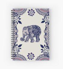 Cuaderno de espiral Elefante rosa