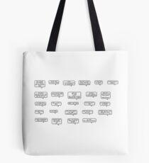 vine reference sticker sheet Tote Bag
