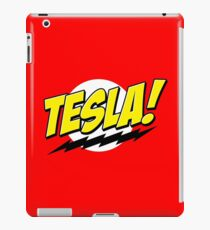 Tesla! iPad Case/Skin