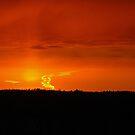 Sunset's heart by loiteke
