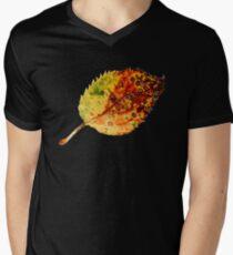 Autumn leaf 1 Men's V-Neck T-Shirt