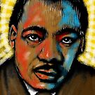 Martin Luther King Jr in Color by ZenPop