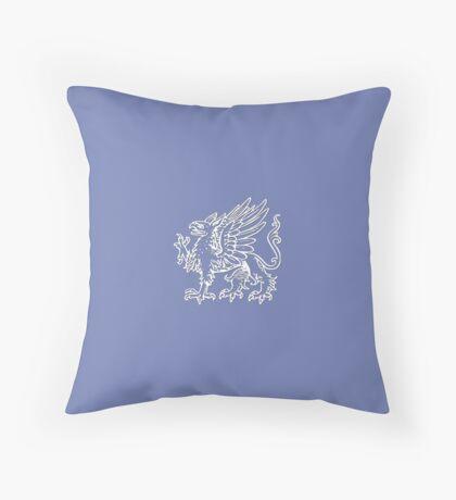 Griffon (white) Throw Pillow