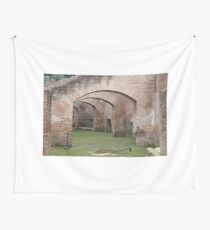 Old Roman Arch Wall Tapestry