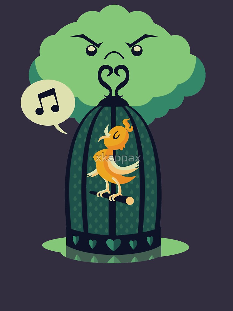 The Caged Bird by xkappax