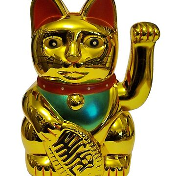 Chinese lucky cat by nelloug90