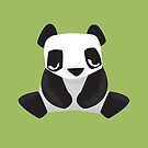 Sleepy Panda - Cute Animal Illustration by SpikyHarold