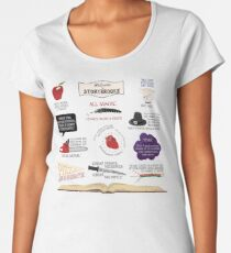Once Upon a Time Quotes Women's Premium T-Shirt