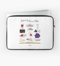 Once Upon a Time Quotes Laptop Sleeve