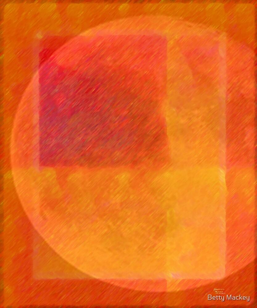 Orange Moon by Betty Mackey