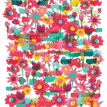 Spring flowers by nokhookdesign