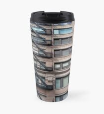 New York, Manhattan, New York City, Skyscraper, tower block, high rise building, tower, block, high rise, building Travel Mug