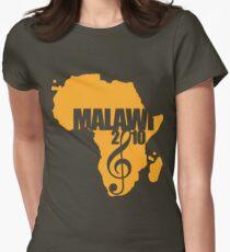 MFM Orange Logo Womens Fitted T-Shirt