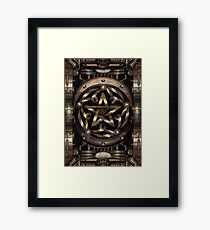 Steampunk Pentacle Framed Print