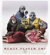 Póster Ready Player One Virtual Group