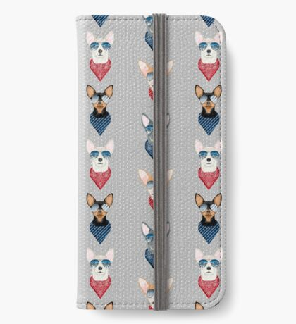 Chihuahua summer sunglasses bandana pure breed dog gifts iPhone Wallet