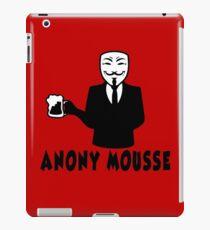 anonymous humor beer iPad Case/Skin
