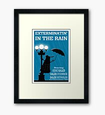 MusiKill in the Rain Framed Print