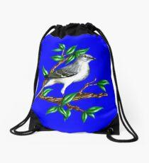 Mockingbird Full Image Portrait  Drawstring Bag