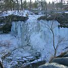 Minnehaha Falls in March by AlteriorMotives
