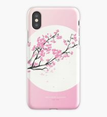 [3.26—3.30] First Cherry Blossoms iPhone Case