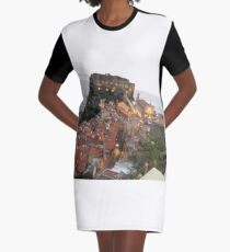 Italy Graphic T-Shirt Dress