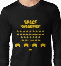 Space Invaders (Ready Player One, Halliday, Anorak) Long Sleeve T-Shirt