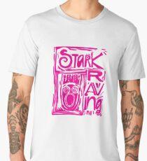 Stark Raving Lino Cut Men's Premium T-Shirt