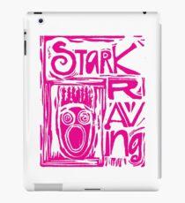 Stark Raving Lino Cut iPad Case/Skin