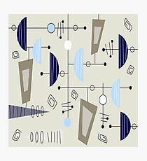 Atomic Era Space Age Inspired Photographic Print