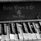 Old Piano by Kent Nickell