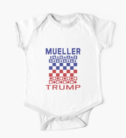 Mueller Chess Trump Checkers Kids Clothes
