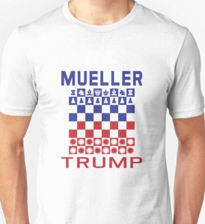 Mueller Chess Trump Checkers T-Shirt