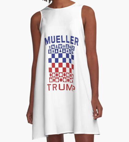 Mueller Chess Trump Checkers A-Line Dress