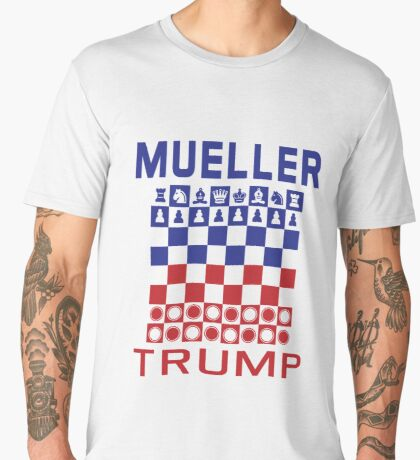 Mueller Chess Trump Checkers Men's Premium T-Shirt
